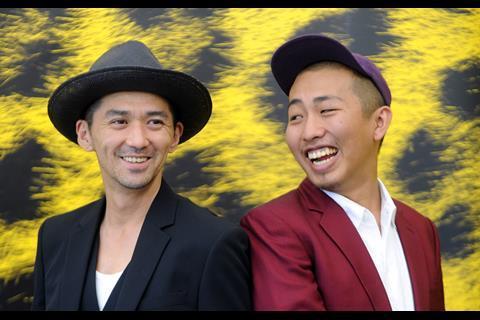 From Playback, actor Jun Marakami and director Sho Miyake